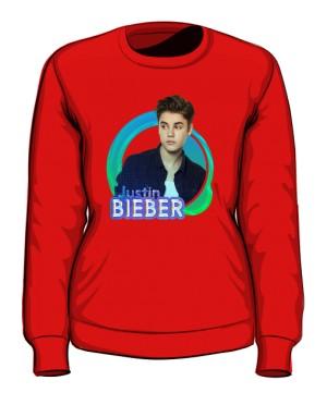 Bluza z nadrukiem Justin Bieber