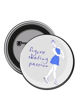 Przypinka figure skating passion