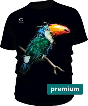 Tukan Tshirt męski premium