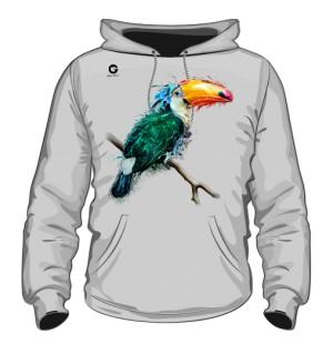 Tukan bluza męska z kapturem