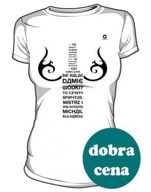 Mistrz i Małgorzata koszulka damska