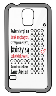 Duma i uprzedzenie Samsung Galaxy S5