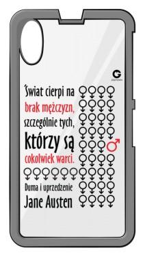 Duma i uprzedzenie etui do Sony Z1