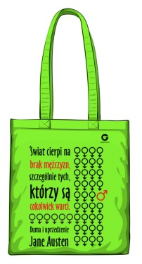 Duma i uprzedzenie torba