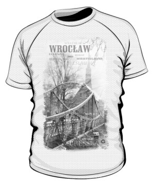 Wrocław koszulka sportowa