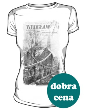 Wrocław koszulka damska