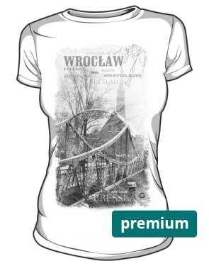 Wrocław koszulka damska premium