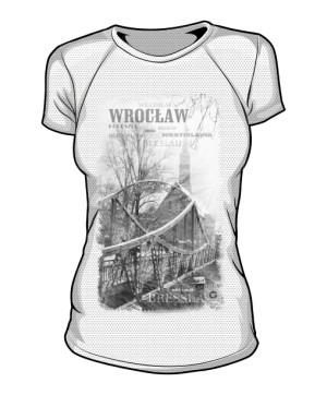 Wrocław koszulka damska sportowa