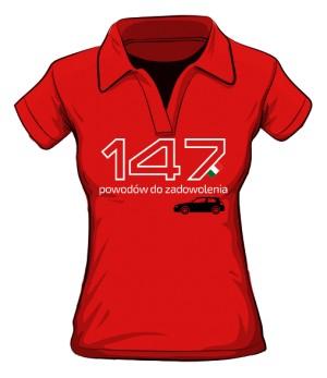147 powodów RED polo
