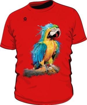 Niebieska Papuga koszulka