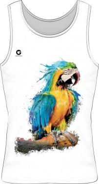 Niebieska Papuga bezrękawnik