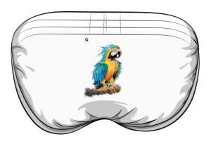 Niebieska Papuga slipy