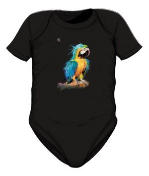 Niebieska Papuga body dziecięce