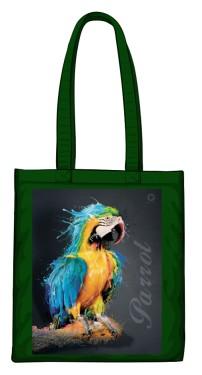 Niebieska Papuga torba