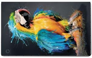 Niebieska Papuga puzzle 120 elementów