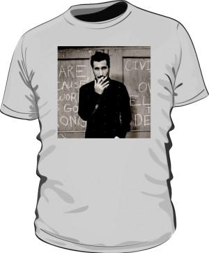 Koszulka Serj Tankian szara