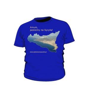 Koszulka dziecięca kolor niebieski