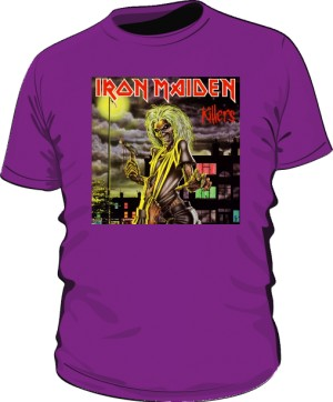 Koszulka fioletowa Iron Maiden KILLERS
