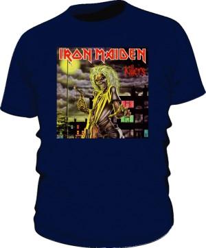 Stylowa koszulka Iron Maiden KILLERS