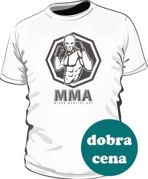 Koszulka MMA biała