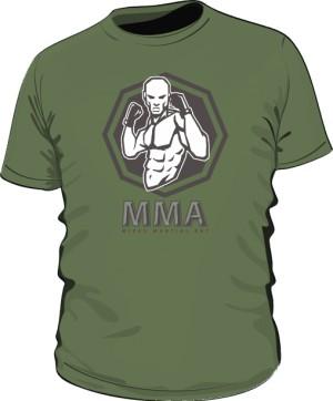 Koszulka MMA khaki