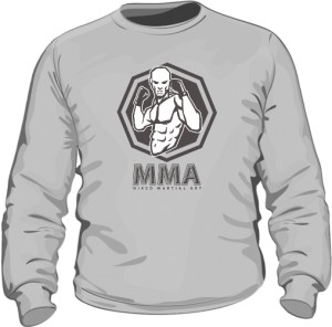 Bluza MMA szra