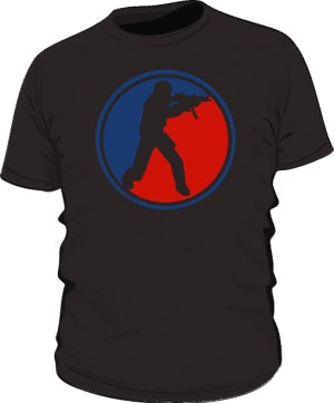 Koszulka CS czarna