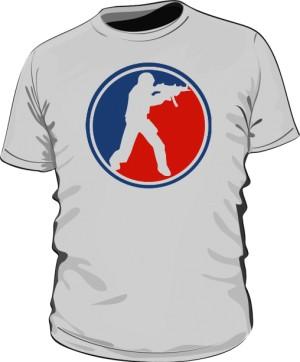 Koszulka CS szara
