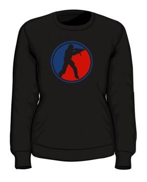 Bluza damska CS czarna