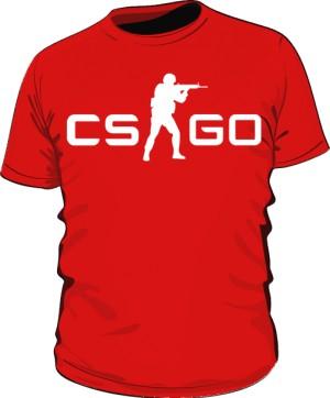 Koszulka męska CSGO czerwona