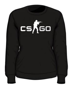 Bluza damska CSGO czarna