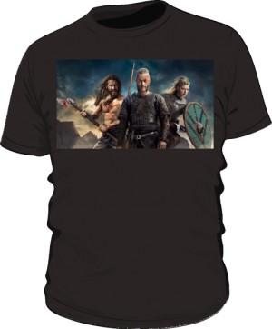 Koszulka męska Vikings czarna