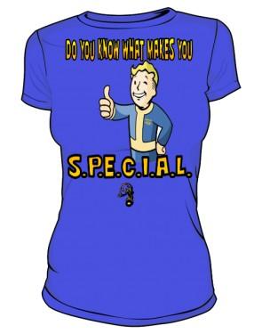 Vault Tec Boy BLUE