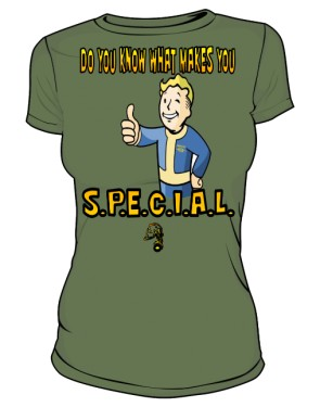 Vault Tec Boy DARK GREEN