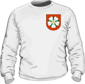 Bluza z herbem na piersi