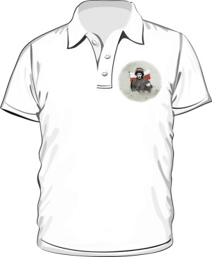 Koszulka polo biała Powstanie