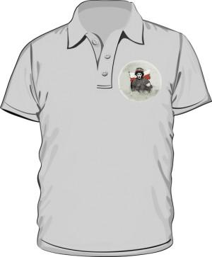 Koszulka polo szara Powstanie