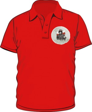 Koszulka polo czerwona Powstanie