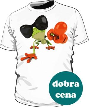 Koszulka męska biała Frog