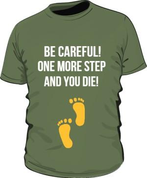 Jeden krok i giniesz