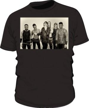 Koszulka czarna męska Rammstein