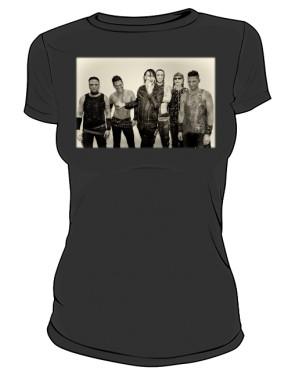 Koszulka czarna damska Rammstein