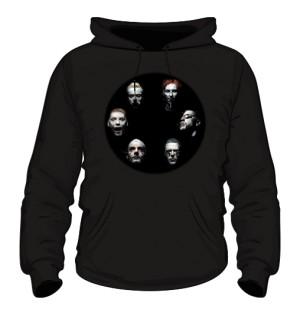 Bluza czarna męska Rammstein faces