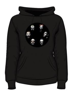 Bluza czarna damska Rammstein faces