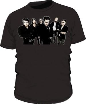 Koszulka czarna męska Rammstein band
