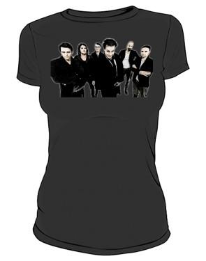 Koszulka czarna damska Rammstein band