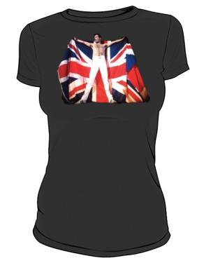 Koszulka damska czarna Freddie