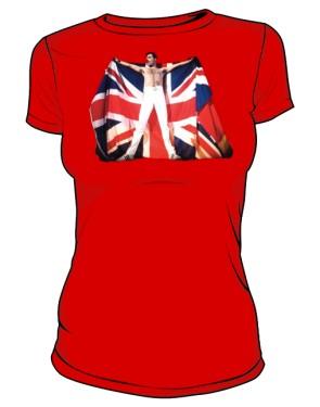 koszulka damska czerwona Freddie