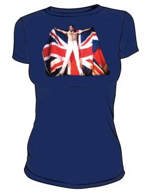 Koszulka damska granatowa Freddie