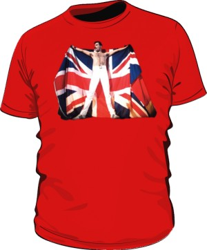 Koszulka męska czerwona Freddie